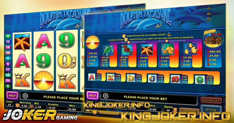Slot Joker Dolphin Treasure